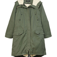 Rag & Bone - Starling Coat, Army Green