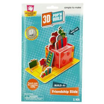 Build-A-Friendship Slide 3D Pop'N Build Kit
