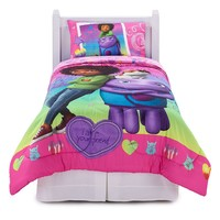 DreamWorks Home BFF Forever 4-pc. Reversible Bed Set - Twin (Pink)
