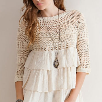 Clay Crochet Top