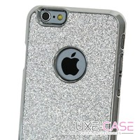 All That Glitters Silver Sparkly iPhone 6 Case - Luxe-Case