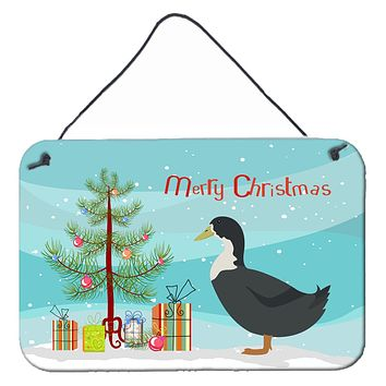 Blue Swedish Duck Christmas Wall or Door Hanging Prints BB9229DS812