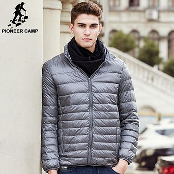 New casual Ultralight white duck down jacket men clothing High quality waterproof male Parkas coat