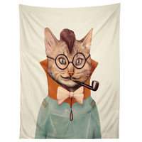 Animal Crew Eclectic Cat Tapestry