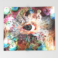 Life of Sin Throw Blanket by J.Lauren | Society6