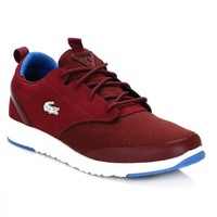 Lacoste Mens Dark Red L.IGHT 2.0 WMP Trainers
