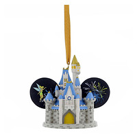 disney parks wdw cinderella castle light up ear hat ornament new with tag