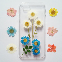 iPhone 6s Case pressed flower clear case for apple iphone 4 4s 5 5s 5c 6 6 plus 6s 6s plus samsung s4 s5 s6 s6 edge note3 note4 note5