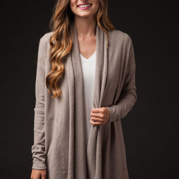 Now's The Time Mocha Sweater