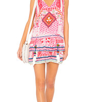 HEMANT AND NANDITA Esoteric Tunic in Pink