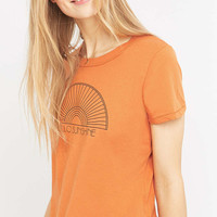 Truly Madly Deeply Hello Sunshine Yellow T-shirt - Urban Outfitters