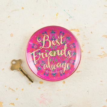 Best Friends Always Trinket Tray