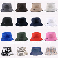 Bucket hat plain and colorful design (19 colors)