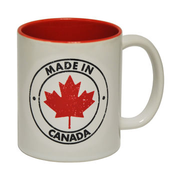 123t USA Made In Canada Funny Mug