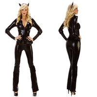 Halloween Black Cosplay Costume [9220653956]
