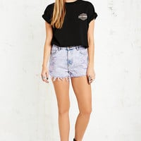 Vintage Renewal Overdyed Distressed Levi's Denim Shorts in Purple - Urban Outfitters