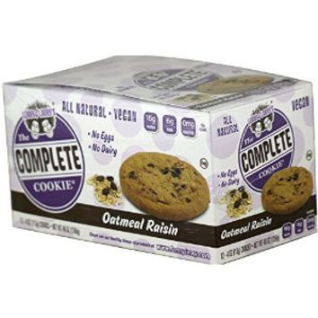 The Complete Cookie - Oatmeal Raisin - 4 oz - Case of 12