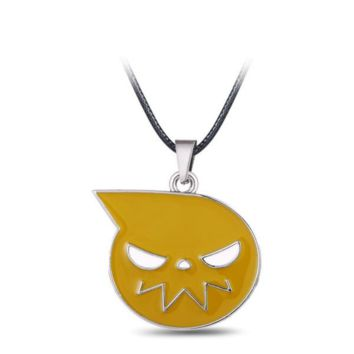 Soul Eater Metal Necklace Soul Logo Pendant