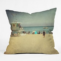 Shannon Clark California Dreamin Throw Pillow