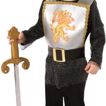 Toddler Boy's Costume: Brave Knight