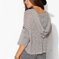 Staring At Stars Beach Hooded Sweater-