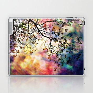 the Tree of Many Colors Laptop & iPad Skin by Caleb Troy | Society6