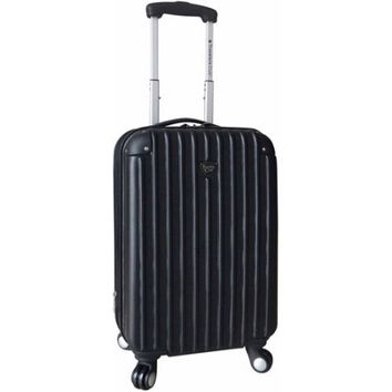 "Travelers Club 20"" Expandable Hardside Spinner Carry-On - Walmart.com"