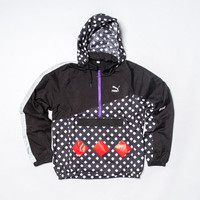 Alife x Puma Track Jacket - Black/Reflective Silver/Red