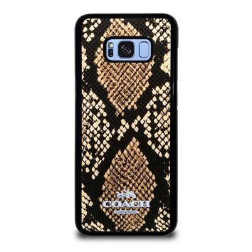 COACH NEW YORK SIGNATURE CITY Samsung Galaxy S8 Plus Case Cover