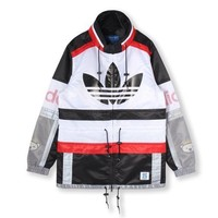 Adidas Originals Men's NIGO 25 Blocked Parka Jacket Size XL FREE SHIPPING AJ5181