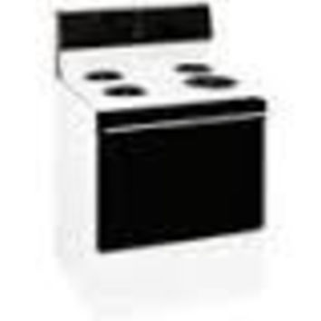 Hotpoint RB525BH3WH(B) Electric Range, White - USED