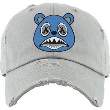 UNC BAWS Light Grey Dad Hat