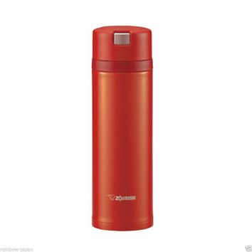 Zojirushi Stainless Steel Mug 480ml SM-XB48-RV Thermos Hot Coffee Water Bottle