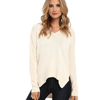 BCBGeneration Long-Sleeve V-Neck Sweater