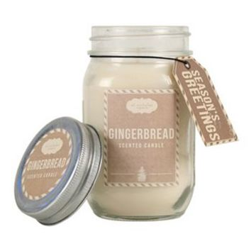St. Nicholas Square® 12 1/2-oz. Gingerbread Jar Candle