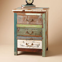 ONE OF A KIND PAINTBOX SIDE TABLE         -                  Nightstands & Dressers         -                  Furniture         -                  Furniture & Decor                       | Robert Redford's Sundance Catalog