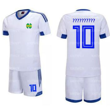 Custom name Captain Tsubasa  Jersey Football Suit Uniform Quick dry fabric Kid Adult size Cosplay Costume T-shirt+Shorts