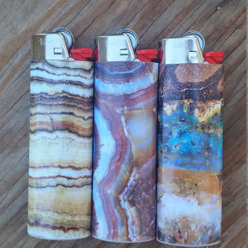 Gemstone Bic Lighters