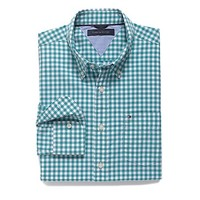 80'S COTTON POPLIN CHECK SHIRT | Tommy Hilfiger USA