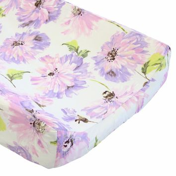 Tallulah Purple - Changing Pad Cover