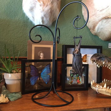 Wrought Iron Black Stand