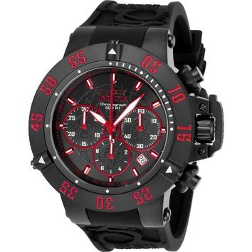 Invicta Men's 22924 Subaqua Quartz Chronograph Black, Red Dial Watch