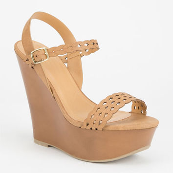 Delicious Yanessa Womens Wedges Natural  In Sizes