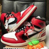 Nike Air Jordan 1 x Off White The Ten 10 sz US 12 UK 11 chicago retro aa3834 DS