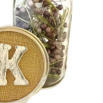 Wedding Table Centerpiece, Rustic Burlap Table Number Marker