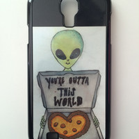 You're Outta This World Android Galaxy Case