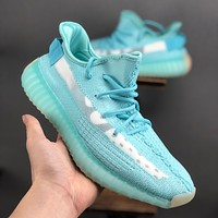 adidas Yeezy Boost 350 V2 Ice Blue Running Shoes - Best Deal Online