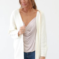 Come To Me Cardigan - Ivory