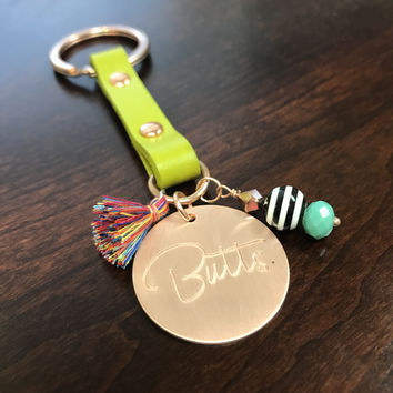 Butts Key Chain