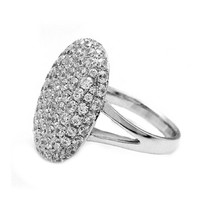 Women Wedding Engagement Ring Crystal Jewelry Size 6-11 Rings SL/10